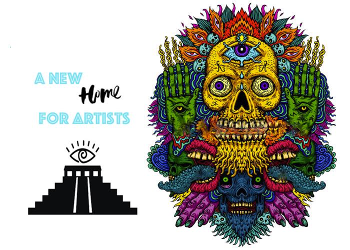 original art pieces and music